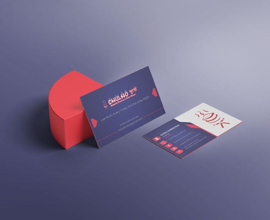 Chulho Visiting Card